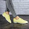 Жіночі туфлі Fashion Lippy 1772 36 розмір 23 см Жовтий, фото 6