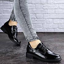 Женские туфли Fashion Prancer 2033 37 размер 24 см Черный, фото 3