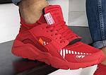 Чоловічі кросівки Baas (червоні) модні спортивні демісезонні кроси 10208, фото 7