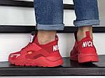 Чоловічі кросівки Baas (червоні) модні спортивні демісезонні кроси 10208, фото 4