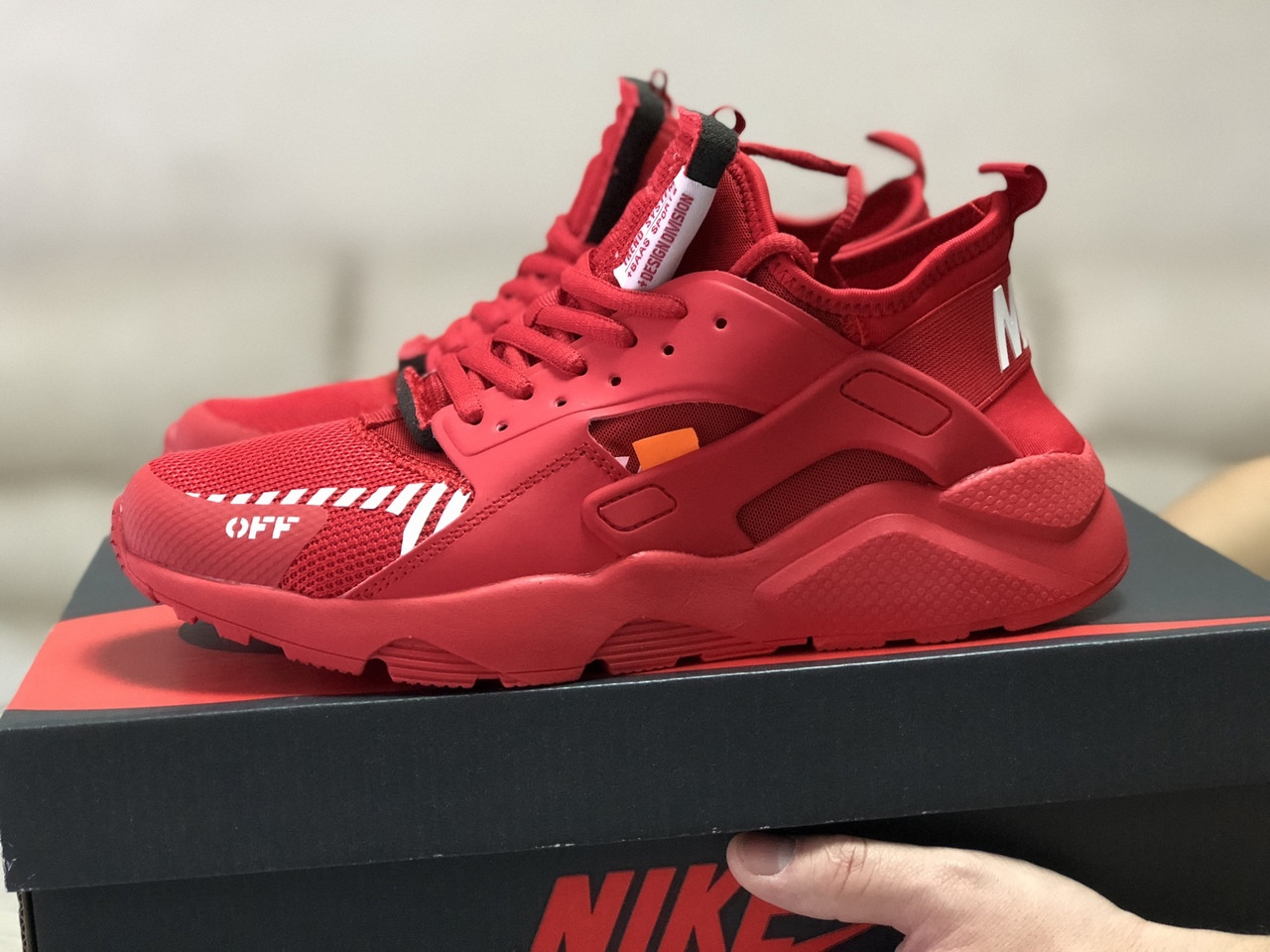 Чоловічі кросівки Baas (червоні) модні спортивні демісезонні кроси 10208