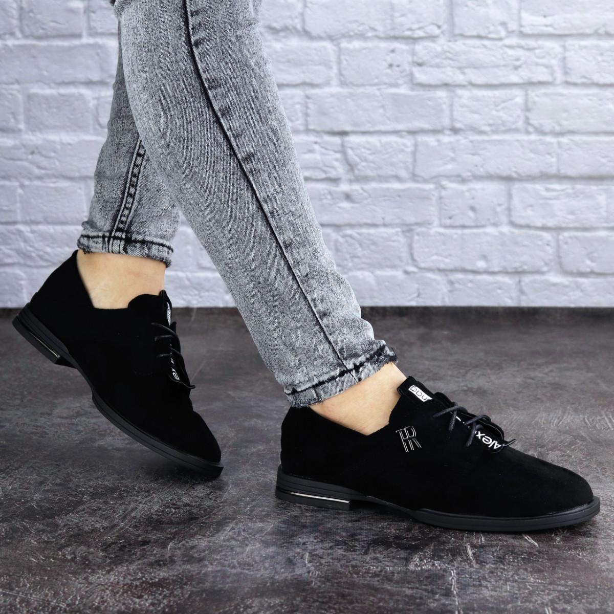 Жіночі туфлі Fashion Trent 2023 37 розмір 23,5 см Чорний