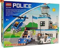 Конструктор JIXIN 8188A Поліцейський ділянку, 63 деталі