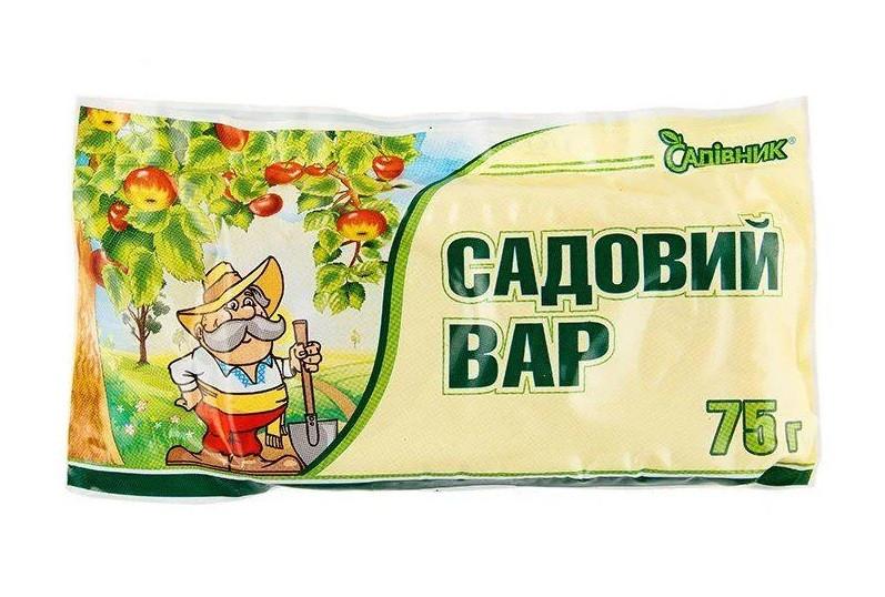 "Садовий вар 75г ""Садівник"" (брикет),  Агрохімпак"