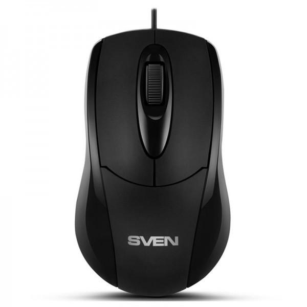 Мышь Sven RX-110 Black PS/2