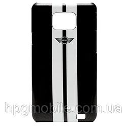 Чехол для Samsung Galaxy S2 i9100, i9105 - MINI Cooper Metallic stripes