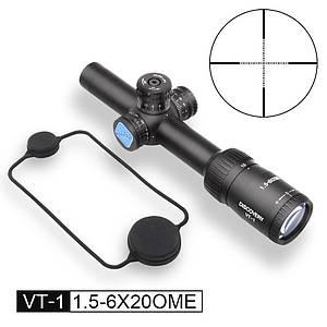 Оптичний приціл Discovery Optics VT-1 1.5-6X20