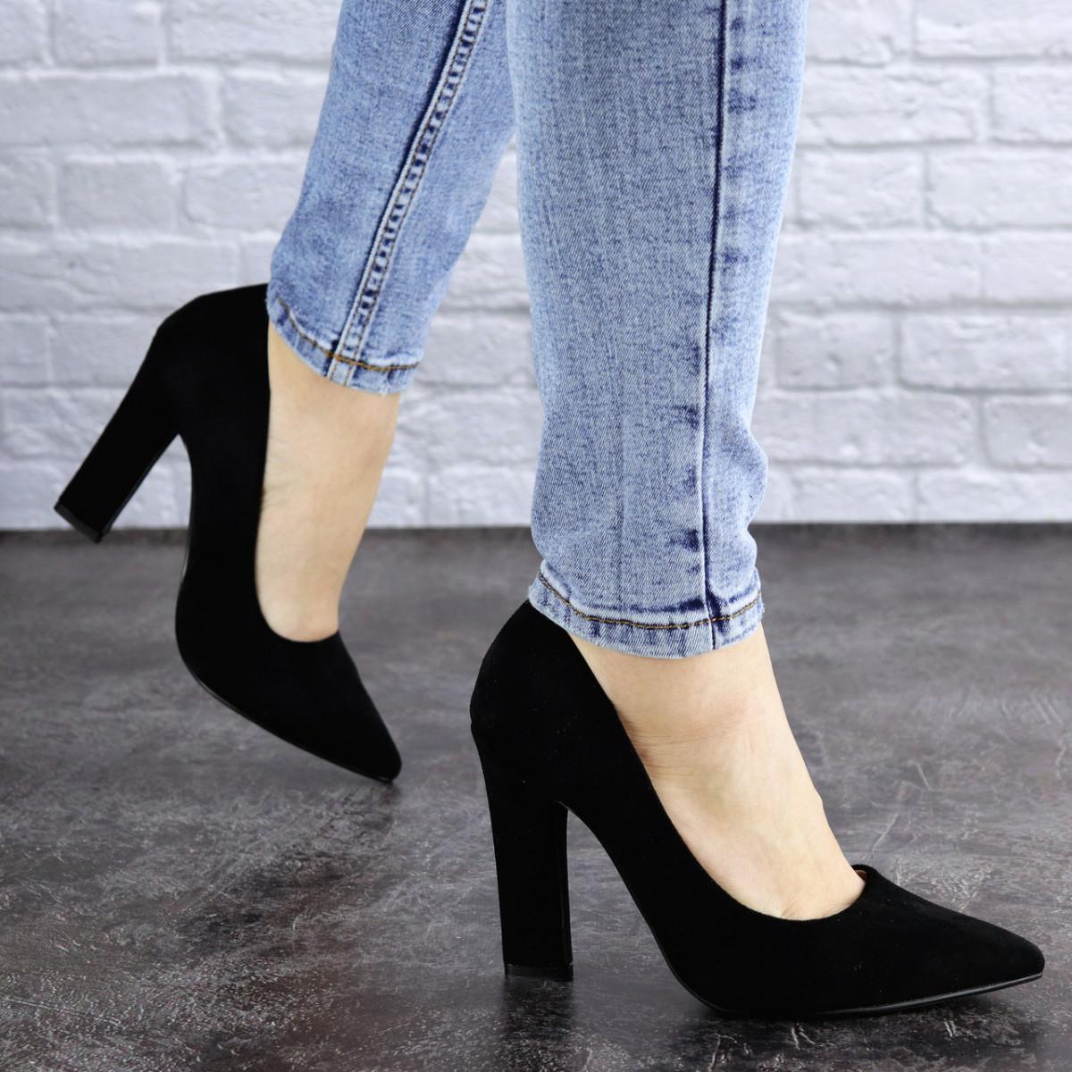 Жіночі туфлі на підборах Fashion Howie 1944 36 розмір, 23,5 см Чорний 40