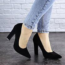 Жіночі туфлі на підборах Fashion Howie 1944 36 розмір, 23,5 см Чорний 40, фото 2