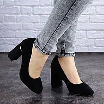 Жіночі туфлі на підборах Fashion Potter 2004 36 розмір, 23,5 см Чорний, фото 2