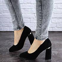 Жіночі туфлі на підборах Fashion Potter 2004 36 розмір, 23,5 см Чорний, фото 3