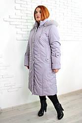 Пальто зимове євро Анжеліка