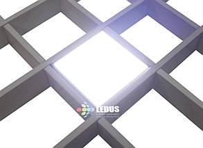 Светильник для потолка Грильято СГД 30Вт 200х200 мм