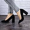 Женские туфли на каблуке Fashion Skye 2016 37 размер 24 см Черный, фото 4