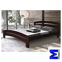 Ліжко дерев'яна двоспальне Ліра - 160 Стемма
