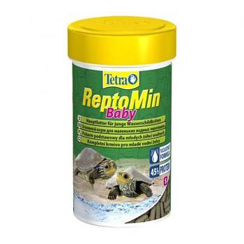 Корм Tetra ReptoMin Baby для маленьких черепах, 100 мл