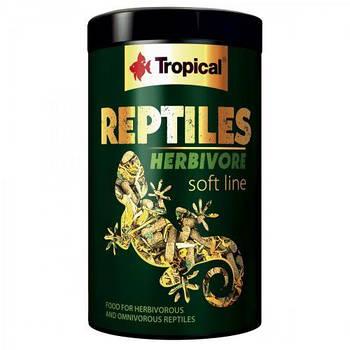 Многокомпонентный корм для растительноядных рептилий Tropical «Reptiles Herbivore» 1 л