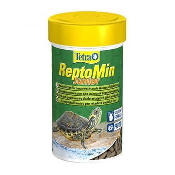 Корм Tetra ReptoMin Junior для молодых черепах, 250 мл