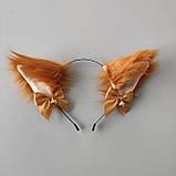 Пухнасті вушка на обручі 06, фото 2