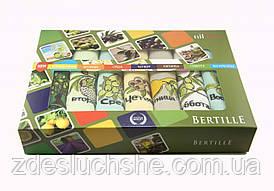 Набор кухонных вафельных полотенец Niltex Неделька 40х60 Оливка 7шт SKL53-240119