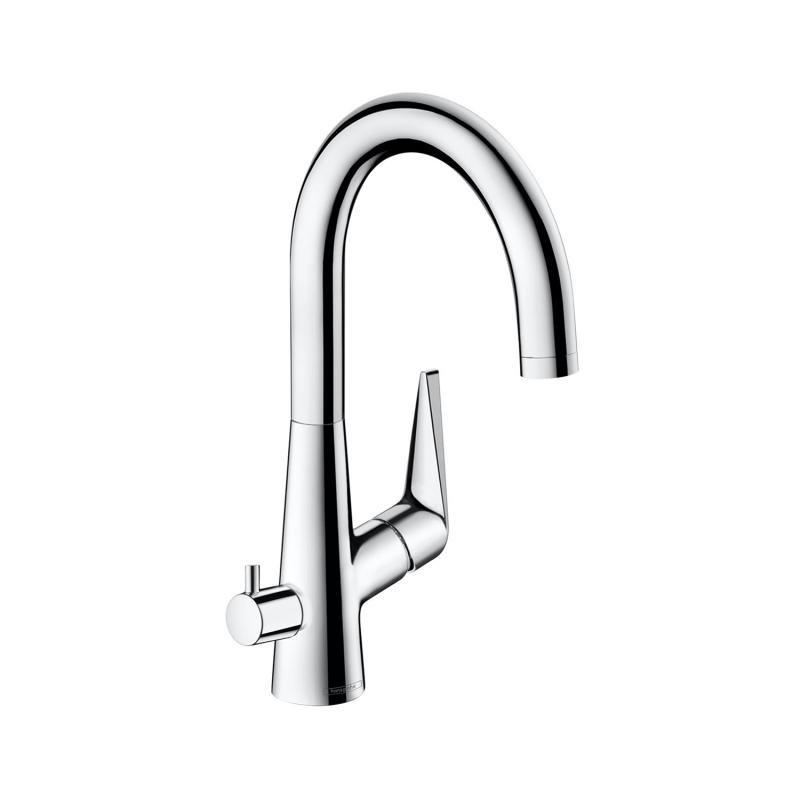 Talis S Змішувач для кухні 220, одноважільний, з запірним клапаном для посудомийної машини, ?', хром