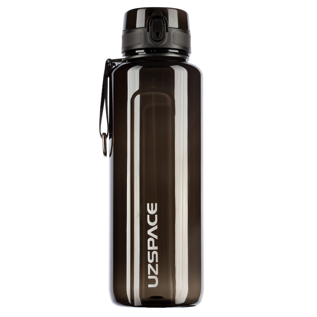 Пляшка для напоїв 500 мл Uzspace Wasser чорна (серія 6006)
