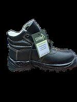 Ботинки юфтевые с мягкой вставкой (утепленные), фото 1