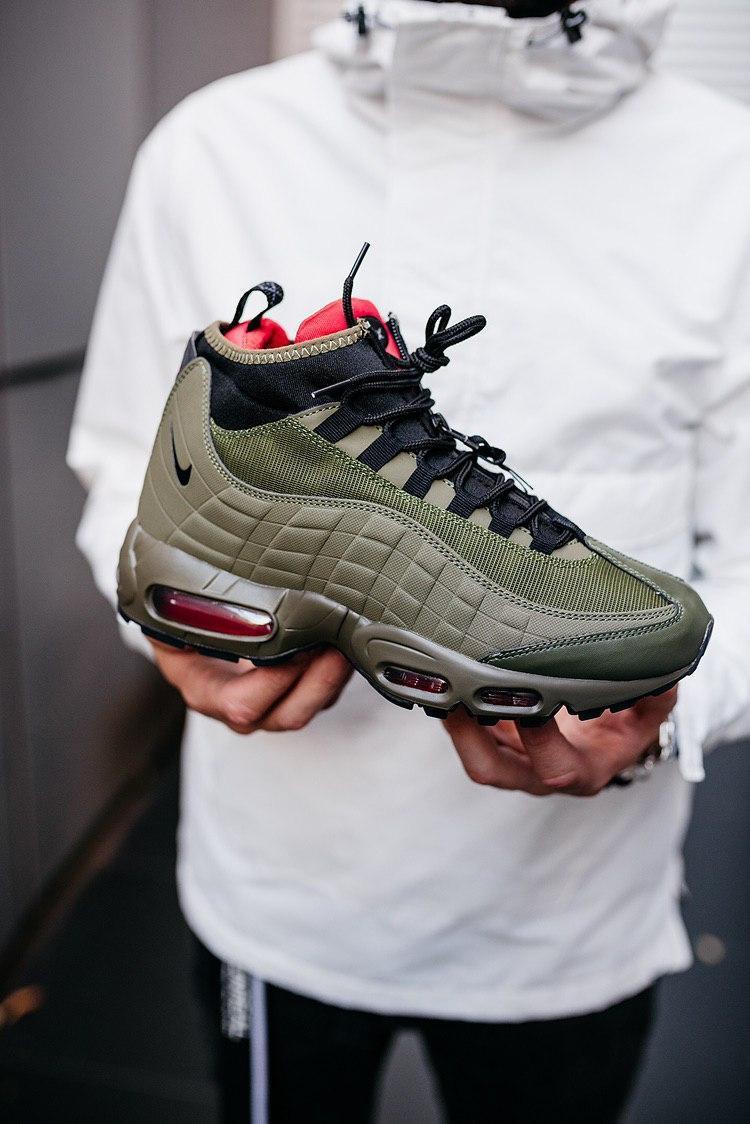 Зимові Чоловічі Кросівки Nike Air Max 95 Sneakerboot