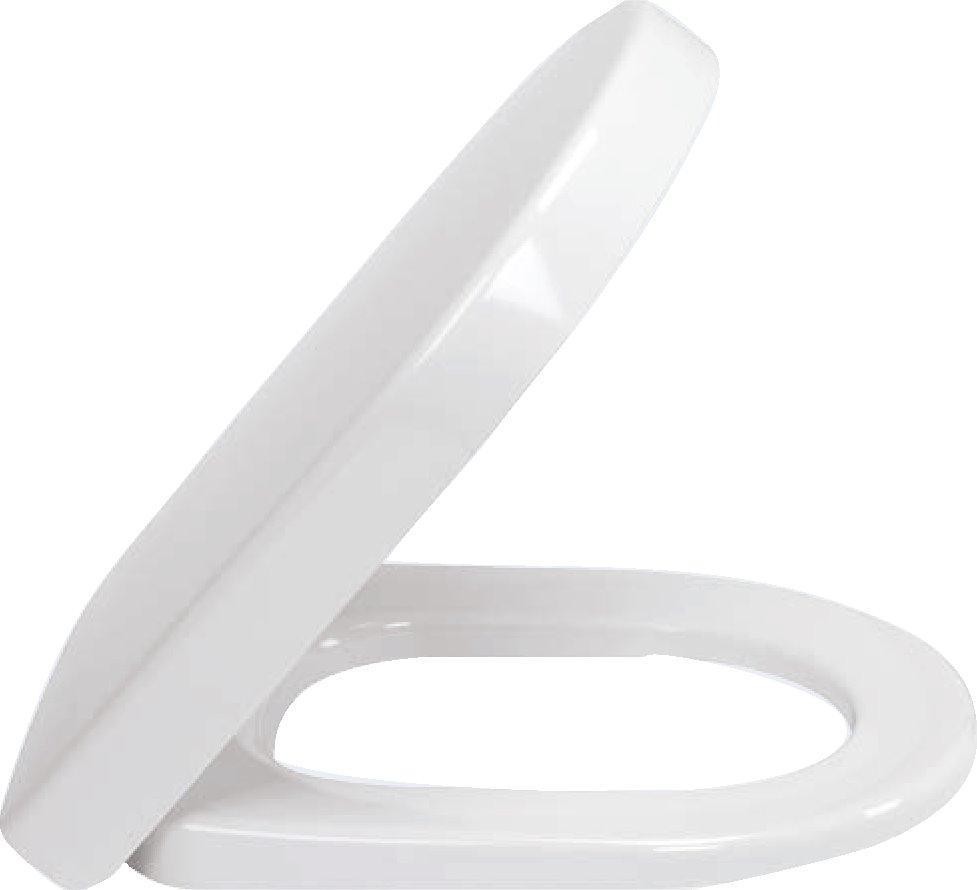 SUBWAY 2.0 сиденье на унитаз с крышкой soft-close, белый глянец С+