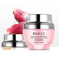 Антивозрастной восстанавливающий крем для лица IMAGES Moisturizing Beauty Cream с экстрактом розы 50 гр