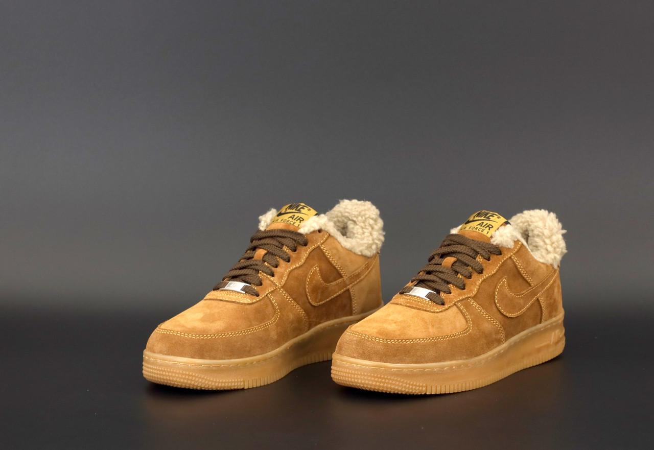 Чоловічі Зимові Кросівки Nike Air Force Winter