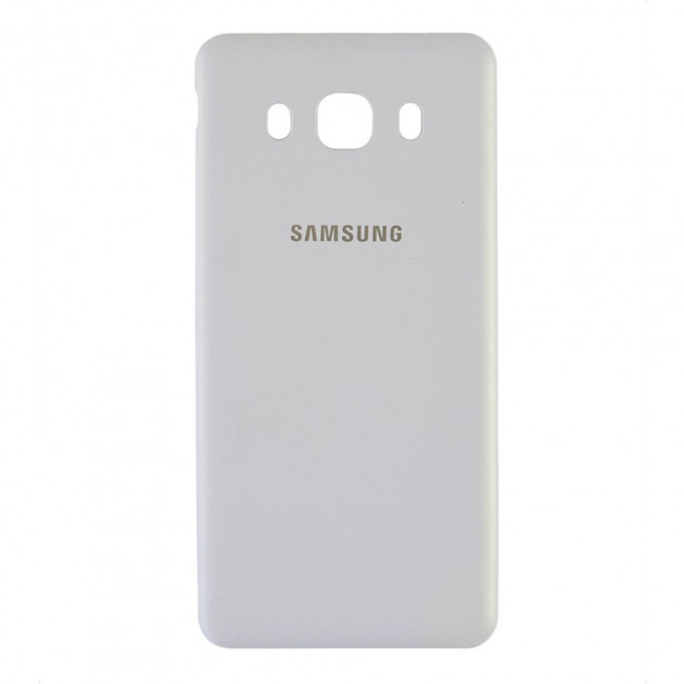 Задняя панель корпуса (крышка) для Samsung Galaxy J7 2016 | J710 (Качество ААА) (Белая)