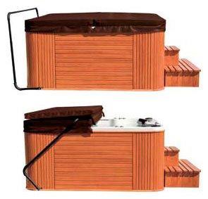 MARINA SPA термическая крышка для бассейна 188*133, цвет коричневый