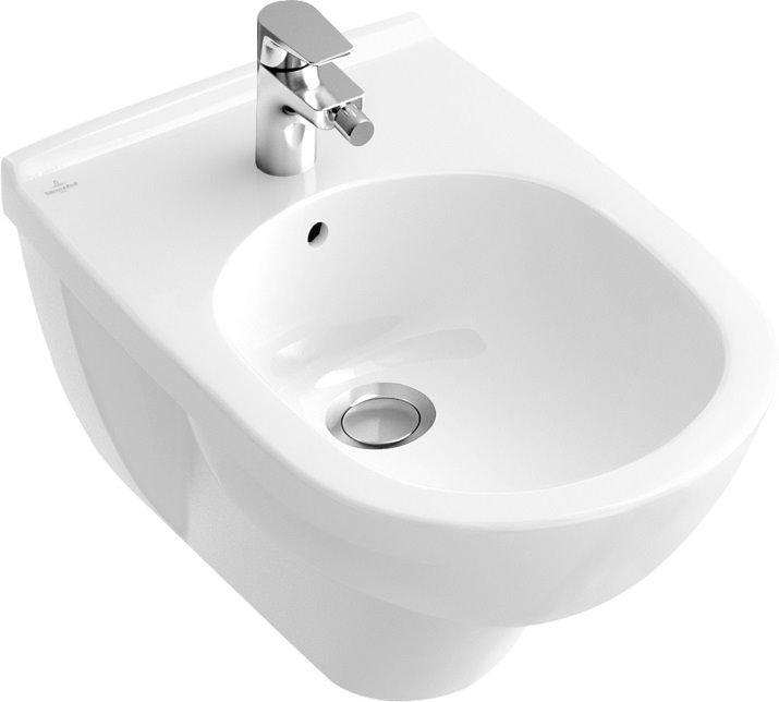 O. NOVO біде підвісне 36*56 см, колір білий З+
