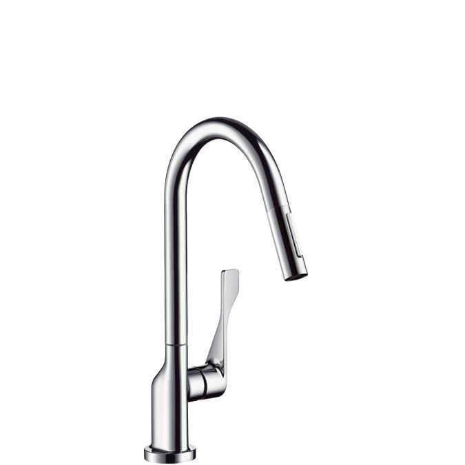 Axor Citterio Смеситель для кухни, однорычажный с выдвижным душем
