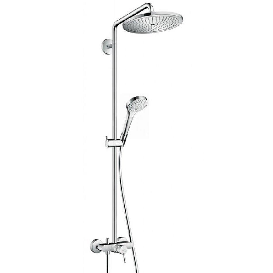 Croma Select Showerpipe Душова система 280 Air 1jet, з одноважільного змішувачем, хром
