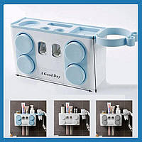 Держатель для зубной щетки  Диспенсер для зубной пасты и щеток  Автоматический диспенсер для пасты