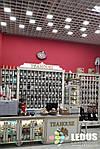 """Система світильників для стелі Грільято (6шт) """"Доміно"""" СГД 36Вт 100х100 мм, фото 2"""
