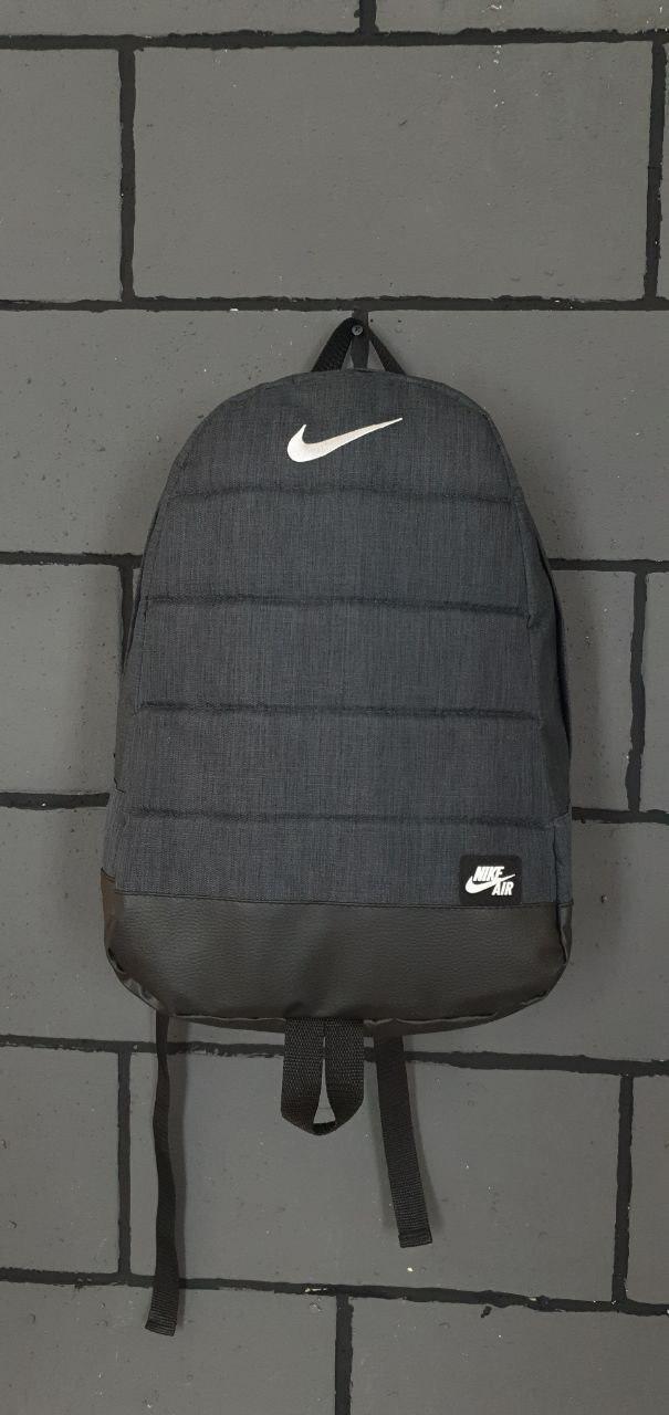 Рюкзак  Найк / Nike / AIR темно серый меланж