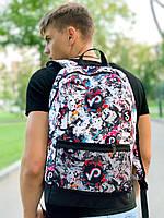 Рюкзак TikTok Мужской | Женский Городской для ноутбука тикток белый, фото 1