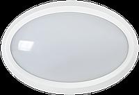 Світильник світлодіодний ДПО 3040Д 12Вт 4500K IP54 овал білий з датчиком руху IEK