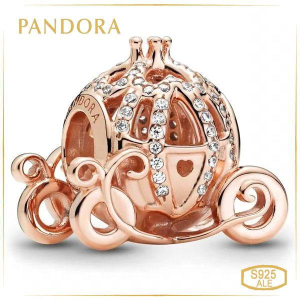 "Пандора Шарм ""Блестящая карета"" Золушка Disney Rose Pandora 789189C01"