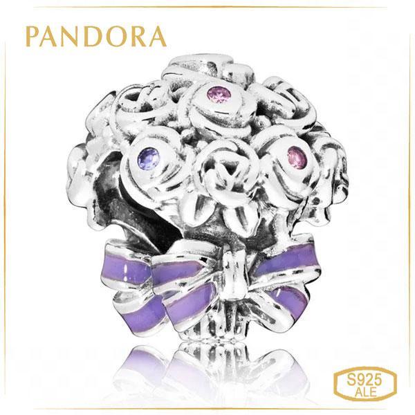 "Пандора Шарм ""Святковий букет"" Pandora 797260NLC"