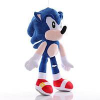 Детская Мягкая игрушка Sonic Соник Икс Ёж Sonic Plush 25 см