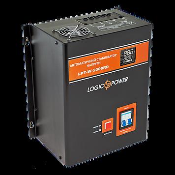 БО Стабілізатор напруги LPT-W-5000RD BLACK (3500W)