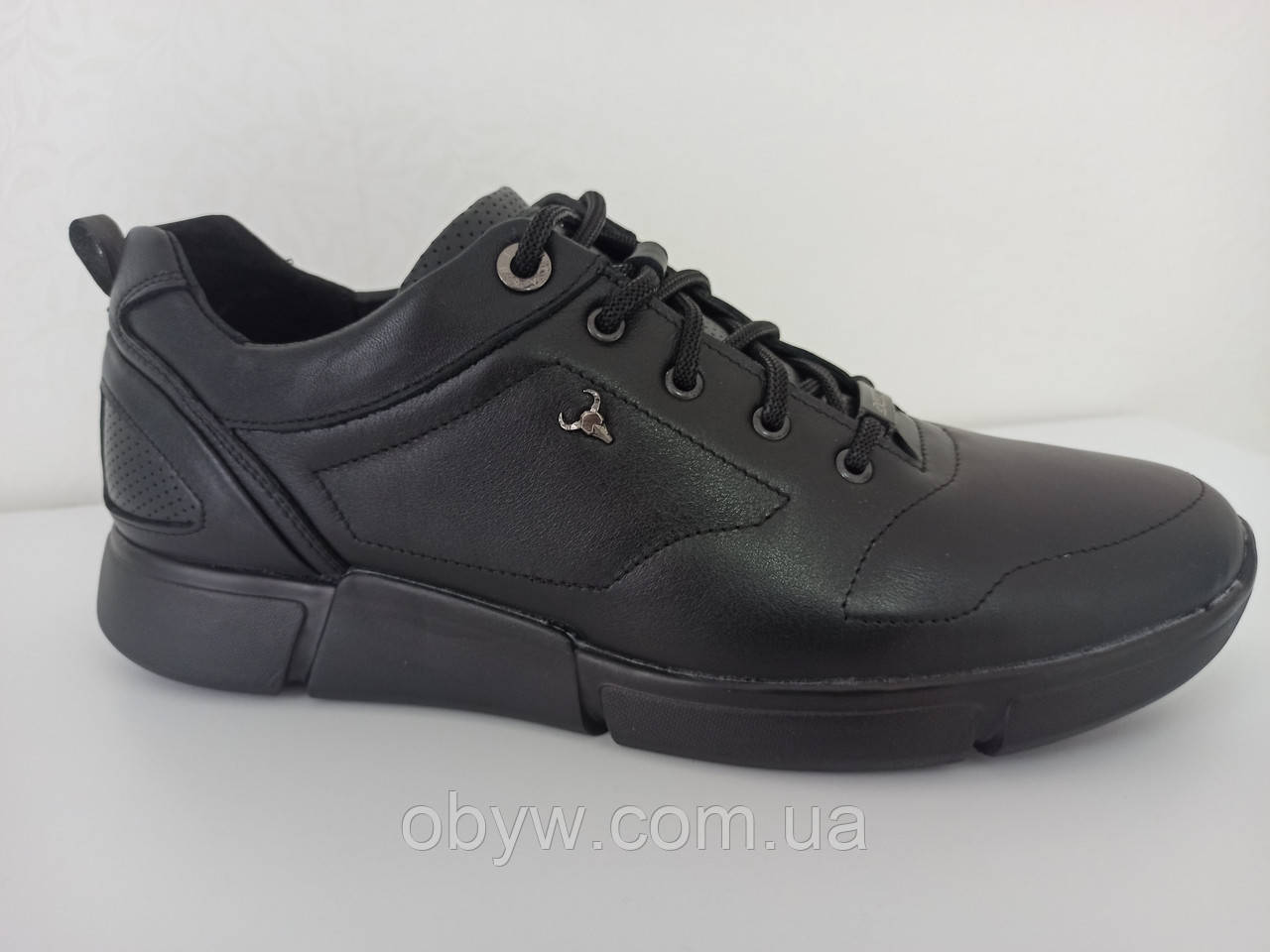 Польська чоловіча шкіряна взуття yak - 4045