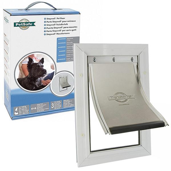 PetSafe Staywell Aluminium Small ПЕТСЕЙФ СТЕЙВЕЛ АЛЮМИНИЙ дверца для котов и собак малых пород, усиленная