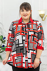 Рубашка Лючия квадраты