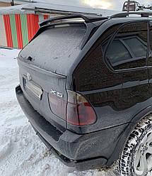 Боковые спойлера BMW X5 E53 тюнинг на заднее стекло