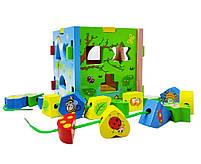 Деревянная игрушка Домик С39343, фото 2
